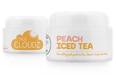 True Cloudz Peach Iced Tea