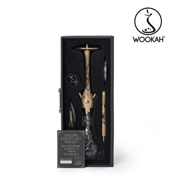 Wookah 24K Gold-Plated Olives Grom Set